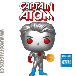 Funko Pop Wondercon 2020 DC Captain Atom Edition Limitée