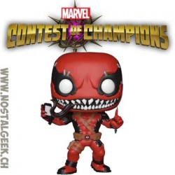 Funko Pop Games Marvel Contest of Champions VenomPool (With Phone) Edition Limitée