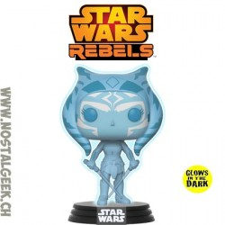 Funko Pop Star Wars Rebels Ahsoka Tano (Holographic) Phosphorescent Edition Limitée
