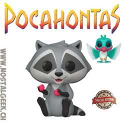 Funko Pop Disney Pocahontas Meeko with Flit Edition Limitée