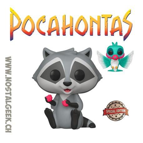 Funko Pop Disney Pocahontas Meeko with Flit Exclusive Vinyl Figure