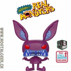 Funko Pop NYCC 2017 Aaahh!!! Real Monsters Ickis (Scary) Vaulted Edition Limitée