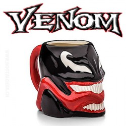 Marvel Venom Ceramic Molded Mug 16 oz
