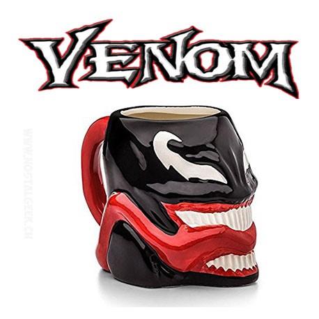 Marvel Venom Ceramic Molded Mug 16 oz