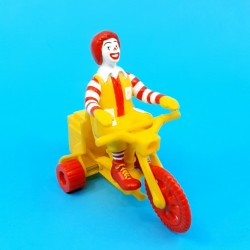 McDonald's Ronald McDonald on his tricycle second hand figure (Loose)