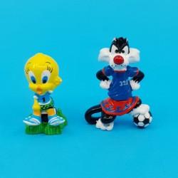 Looney Tunes Titi et Grosminet Football Figurines d'occasion (Loose)