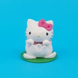 Hello Kitty Lotus Figurine d'occasion (Loose)