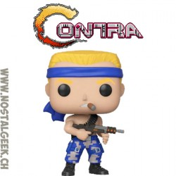 Funko Pop Jeux Video Contra Bill Rizer Vinyl Figure