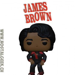 Funko Pop Rocks James Brown Vinyl Figure