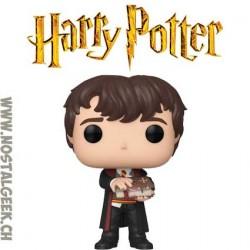 Funko Pop Harry Potter Neville Longbottom with Monster Book Vinyl Figure