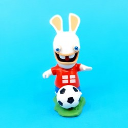 Les Lapins Crétin Football Angleterre Figurine d'occasion (Loose)