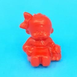 Kiki assise avec chiot Figurine (Rouge) Bonux d'occasion (Loose)