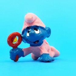 The Smurfs Pink Baby Smurf second hand Figure (Loose)