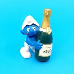 Schtroumpfs - Schtroumpf Champagne Série 50ème anniversaire Figurine d'occasion (Loose)
