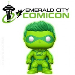Funko Pop! Emerald City Crusader ECCC 2017 Exclusive GITD