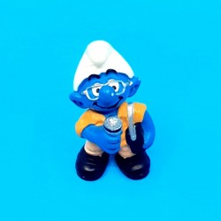The Smurfs - The reporter smurf second hand Figure (Loose)
