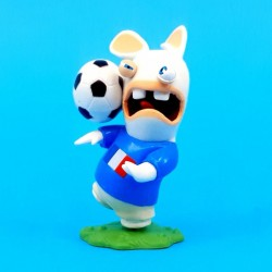 Les Lapins Crétin Football France Figurine d'occasion (Loose)