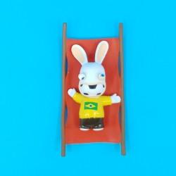 Les Lapins Crétin Football Brésil Figurine d'occasion (Loose)