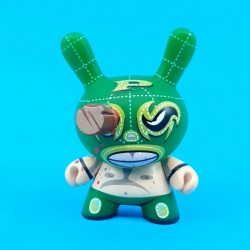 Dunny Series 5 Mocre Luchador Azteca second hand figure (Loose)