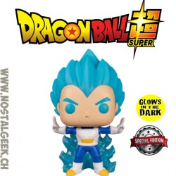 Funko pop Dragon Ball Super Vegeta Powering Up Phosphorescent Edition Limitée