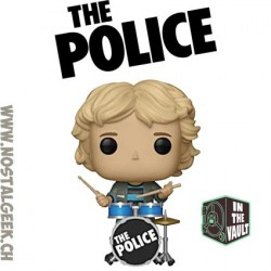 Funko Pop Rocks The Police Stewart Copeland Vinyl Figure