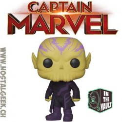 Funko Pop Marvel Captain Marvel Talos Vinyl Figure