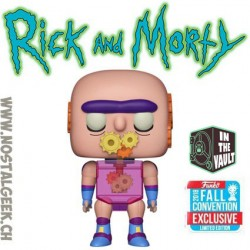 Funko Pop Animation NYCC 2018 Rick and Morty Gearhead Edition Limitée