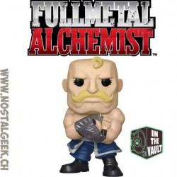 Funko Pop Animation Full Metal Alchemist Alex Armstrong Exclusive Vinyl Figure