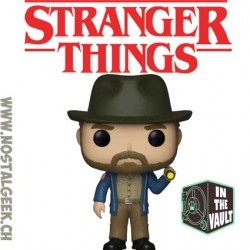 Funko Pop TV Stranger Things Hopper with Vines Vinyl Figure