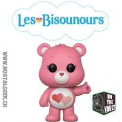 "Funko Pop Animation Care Bear (Bisounours) Love-A-Lot ""Touchérie"""