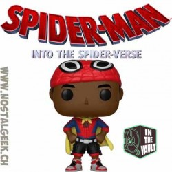 Funko Pop! Marvel Spider-Man Into the Spiderverse Miles Morales (Cape) Vinyl Figure