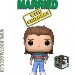 Funko Pop Television Married With Children Bud Bundy Vinyl Figure Box Lightly Damaged box