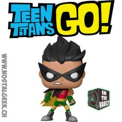 Funko Pop DC Teen Titans Go The Night Begins To Shine Robin Vinyl Figure