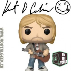 Funko Pop Rocks Kurt Cobain Live And Loud Exclusive Vinyl Figure