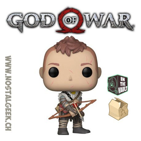 Funko POP Games God of War Atreus Vinyl Figure Damaged box