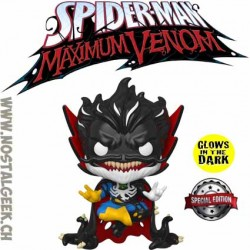 Funko Pop Marvel Venomized Doctor Strange GITD Exclusive Vinyl Figure