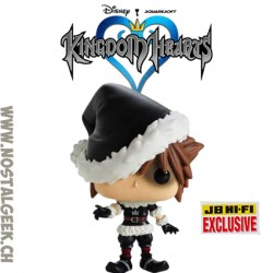 Funko Pop Ride Disney Kingdom Hearts Sora (Christmas Town) Exclusive Vinyl Figure
