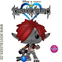 Funko Pop Disney Kingdom Hearts Sora (Monsters Inc.) Flocked Exclusive Vinyl Figure