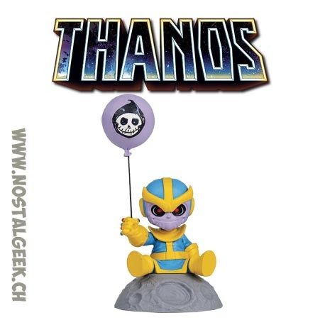 Marvel Mini Heroes Thanos Animated Style Statue