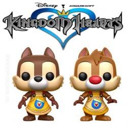 Funko Pop! Disney Kingdom Hearts Chip & Dale (Tic et Tac) 2 Pack