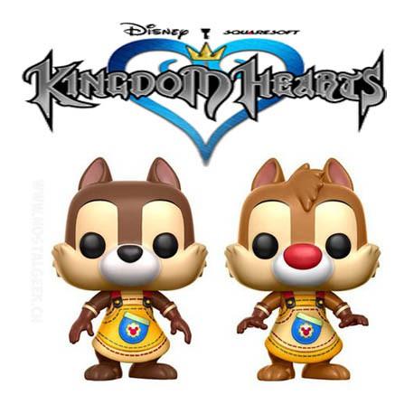 Figurine Funko Pop Disney Kingdom Hearts Chip Dale Tic Et Tac