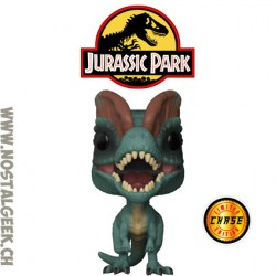 Funko Pop Movies Jurassic Park Dilophosaurus (with Frill) Chase Edition Limitée