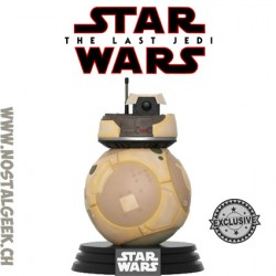 Funko Pop Star Wars The Last Jedi Resistance BB Unit Exclusive Vinyl Figure
