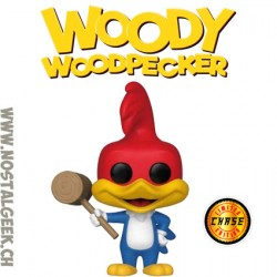 Funko Pop Animation Woody Woodpecker (with Mallet) Chase Exclusive Vinyl Figure