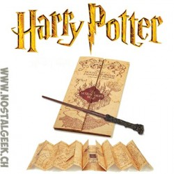Harry Potter Wand + Marauders Map Pack