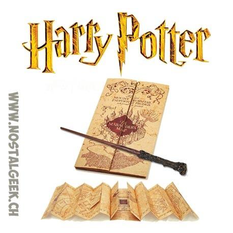 Harry Potter Wand + Marauders Map Pack