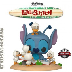 Funko Pop Disney Lilo & Stitch 15 cm - Stitch with Ducks Edition Limitée