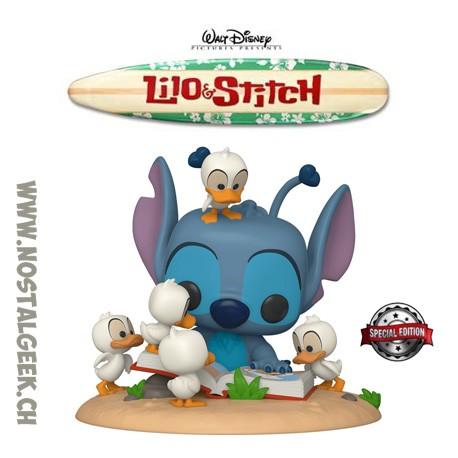 Funko Pop Disney Lilo & Stitch 15 cm - Stitch with Ducks Exclusive Vinyl Figure