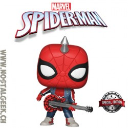 Funko Pop Marvel Spider-Man (Spider-Punk) Edition Limitée