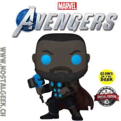 Funko Pop Games Marvel Thor (Avengers Game) Phosphorescent Edition Limitée